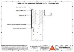 CAD Drawings | Sika Waterproofing
