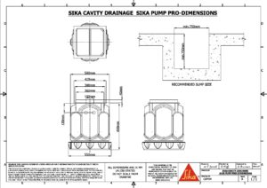 CAD Drawings   Sika Waterproofing
