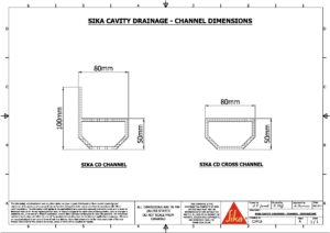 Cad Drawings Sika Waterproofing