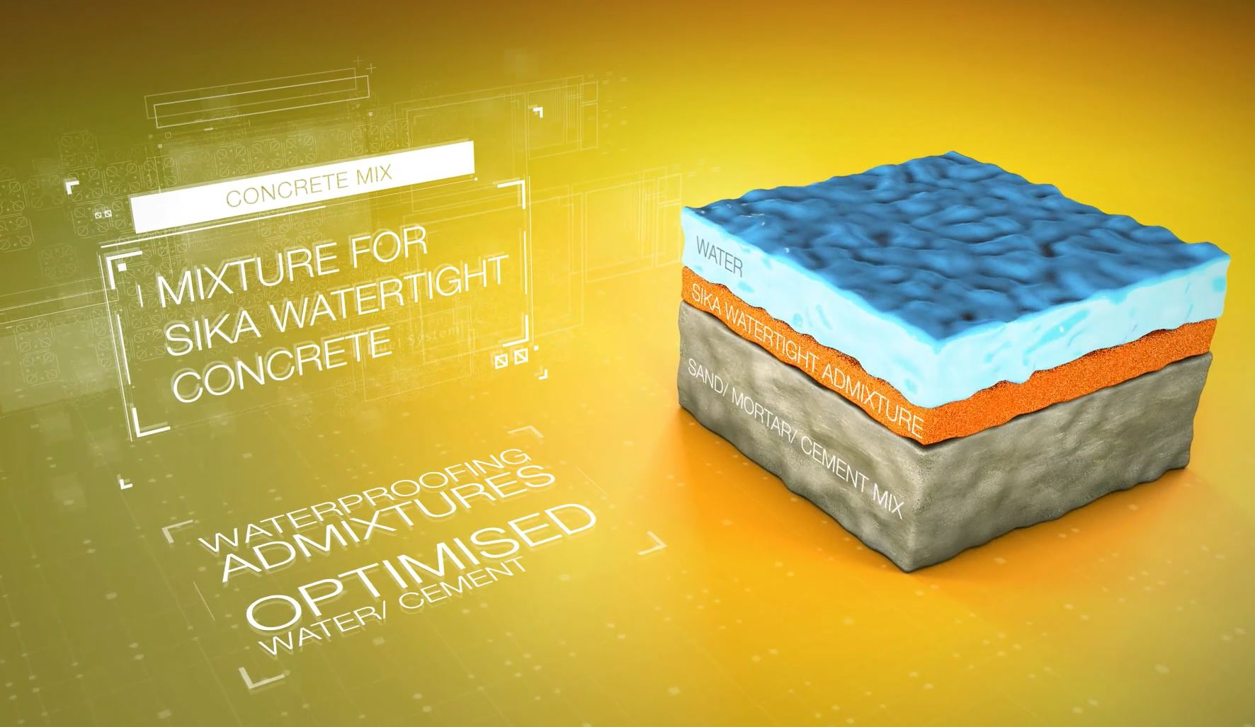 Sika® Watertight Concrete delivers technologically advanced